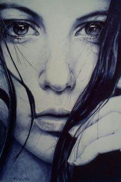 zeichnung Also ballpoint pen art Realistic Drawings, Art Drawings, Lapis 6b, Illustrations, Illustration Art, Photo Repair, Ballpoint Pen Drawing, Artists Like, Ap Studio Art