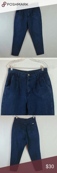 "Bill Blass High Waist Mom Jeans Size 14 In great condition (no rips, tares or stains). Waist 33"", rise 14"" & inseam 29"". Material 100% cotton. Add to a bundle to receive 20% off 3 or more items. Offers welcomed. bin e5. Bill Blass Jeans"
