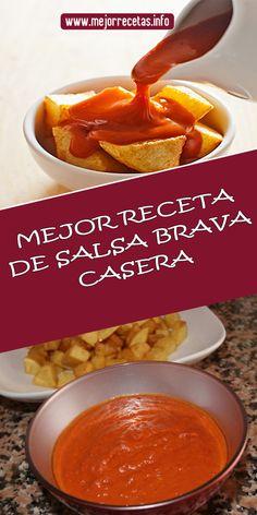 Sauce Recipes, Vegan Recipes, Paella, Bike Food, Hot Salsa, Homemade Marinara, Canapes, Cooking With Kids, Chutney