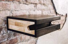 FIXA multi functional wood bike shelf - bike rack - wall holder furniture mount