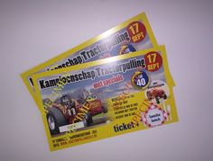 Ticket lunch toegang Ticket, Monopoly, Lunches