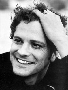 So, I'm just scrolling through Pinterest and look who pops up!  Hello! Colin Firth.  I still love you, Mr. Darcy!