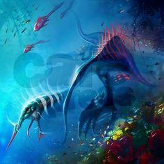 Sea Monsters On Pinterest