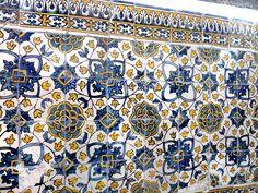 Azulejos antigos no Rio de Janeiro: Centro XXIV - Mosteiro de São Bento