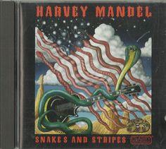 Snakes & Stripes by Harvey Mandel (CD, 1995, Clarity Recordings) | eBay