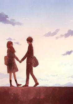 180119 Wanna One Fan-meeting in Kuala Lumpur Manga Couple, Anime Love Couple, Cute Anime Couples, I Love Anime, Anime Amor, Anime Lindo, Art Anime, Anime Art Girl, Couple Illustration