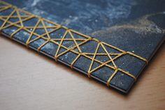 365 Day Creative Challenge // Day 30 // Japanese Stab Binding Stars
