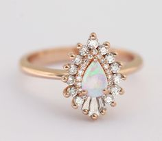 Opal Engagement Rings | POPSUGAR Love & Sex