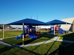 Custom designed playground equipment for a childcare facility. Designed for smaller children age group up to 24 month. Featuring a low deck height slide from DunRite Playgrounds. http://www.dunriteplaygrounds.com