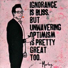 Foto: • ARTIST . MORLEY •  ◦ Ignorance Is Bliss ◦#streetart