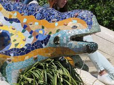 Parc Guell, Barcelona Spain