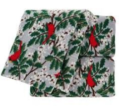 """This set of Berkshire Polar fleece Sheet set is luxurious and beautiful its is sure to brighten up any room with holiday and seasonal joy very soft warm and cozy will make you want to sleep in much Twin set flat sheet is 66"""" x 90 fitted sheet 39 x 75"""" standard pillow case is 20×20... more details available at https://perfect-gifts.bestselleroutlets.com/gifts-for-holidays/home-kitchen/product-review-for-berkshire-blanket-polar-fleece-sheet-set-cardinals-with-hol"""