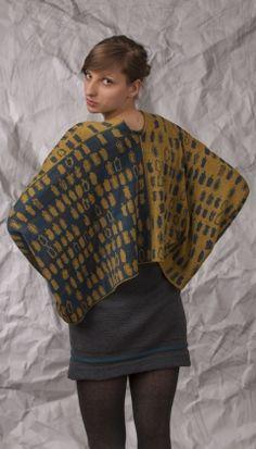 nielanell | shetland knitwear | product | toog shetland knitwear | jumper | goldtealchocolate