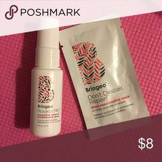 "BRAND NEW BRIOGEO CONDITIONING HAIR TREATMENTS ✔️ BRAND NEW W/ TAGS ✔️ OFFERS ACCEPTED  ✔️ BUNDLE TO SAVE MORE  🚫 NO LOWBALL 🚫 🚫NO TRADES 🚫  ➡️ Ask ANY NECESSARY QUESTIONS before purchasing the item! ⬅️  ⚡️I WILL IGNORE YOU IF YOU ASK ""IS IT AVAILABLE?"" ALL LISTED ITEMS ARE AVAILABLE.⚡️  ❤️HAPPY SHOPPING❤️ Sephora Makeup"