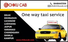 Book a cab for outstation at best price, Get fastest taxi service available in all the top Indian cities. Available all type of Cabs- SUV, Sedan, and Hatchback Etc. Now book cabs online at best price from Chiku Cab. Get all types of cheap taxi booking services at lowest fare? Book a taxi online, outstation cab service in India, taxi booking nearby. Cheap taxi service in India. We find you the best deals by Chiku cab with major hire car companies without hidden costs. Book car rentals in… Online Car Rental, Car Rental Company, Delhi City, Taxi, Cities, Indian, Book, Book Illustrations