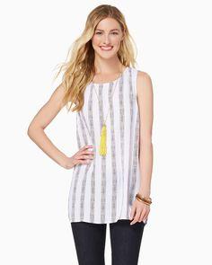 charming charlie   Imogen Striped Tunic   UPC: 100177938 #charmingcharlie