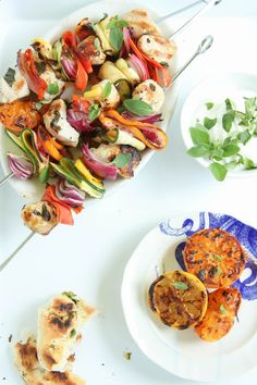 Grilled Citrus and Chicken Skewers