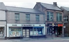 Dimambros cafe in Front street Consett
