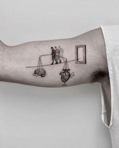 60 besten Libra Tattoo Ideen - Hike n Dip tattoo - tattoo quotes - tattoo fonts - watercolor tattoo Hand Tattoos, Mädchen Tattoo, Libra Tattoo, Zodiac Tattoos, Unique Tattoos, Body Art Tattoos, Tattoo Quotes, Irish Tattoos, Colorful Tattoos