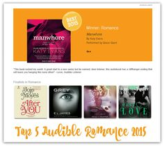 Easy Love top 5 Audible Romances