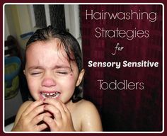 I'm writing over atWhat to Expecttoday.....I'd love you to stop by for a visit and read more about my strategies for hairwashing with sensitive toddlers. For many parents with sensory sensitive c...
