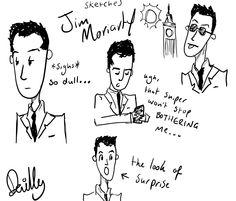 Dear Jim sketches