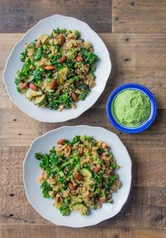 Loving this nutty quinoa recipe I put in my blog recently with a creamy turmeric tahini dressing.