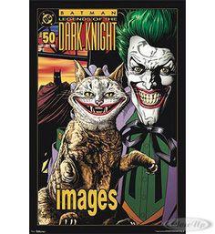 Batman Poster Joker Lächeln Hier bei www.closeup.de