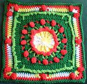 Ravelry: Posie Field pattern by Melissa Green.. Free pattern!
