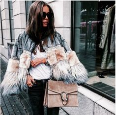 ‪#winter #fashionista #fashionblogger #fashionaddict #trend #trendy #cool #inspiration #lifestyle #style #nice #streetwear #streetstyle #itgirl #details #coat #luxury #bag #itbag‬ #winteriscoming #outfit #outfitoftheday #chic #glam #glamour #fabulous