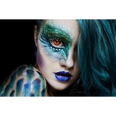 Halloween and Horror Makeup ❤ liked on Polyvore featuring beauty products, makeup, eye makeup, beauty, eyes and halloween