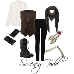 """Sweeney Todd"" by michelle-geiser on Polyvore"