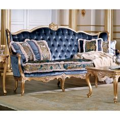 Shop the Sofa at Perigold, home to the design world's best furnishings for every style and space. Georgian Furniture, European Furniture, French Furniture, Classic Furniture, Reupholster Furniture, Upholstered Furniture, Sofa Design, Furniture Design, Luxury Furniture Stores