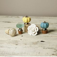 DIY Decor: Easy Designer Bottle Stoppers Project