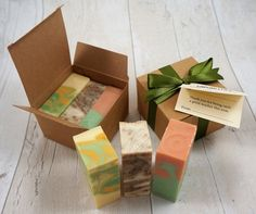 Looking for something a bit different as a teacher gift this year? How about a little box of handmade soaps? Reduced to from the regular plus postage on any sized order. Teacher Cards, Teacher Gifts, Soap Bomb, Soap Shop, Kraft Boxes, Soap Packaging, Little Boxes, Home Made Soap, Handmade Soaps
