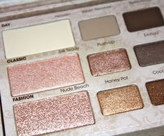 too faced natural eye palette! Better than URBAN DECAY...i promise