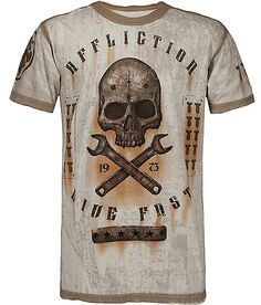 Affliction On The Tracks T-Shirt