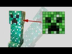 Creeper Minecraft Kostüm selber machen | maskerix.de