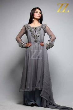 ZZ PartyWear Dresses 2013 Pinned by Zartashia