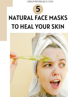 STOP buying skin products and spending all your money. Make your own facial masks. These DIY facial masks will heal acne, give you clear glowing skin and healthier skin once you implement them in your natural DIY skincare routine.