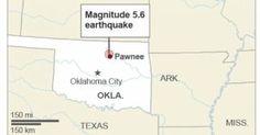 Strong Oklahoma earthquake felt from Texas to Nebraska today 9/3/16