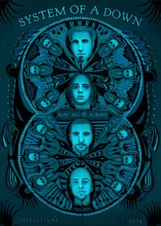 Obsesstival: System of a Down Art Print