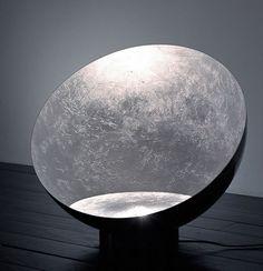 """""""Luna nel pozzo"""" floor lamp by Catellani & Smith."""