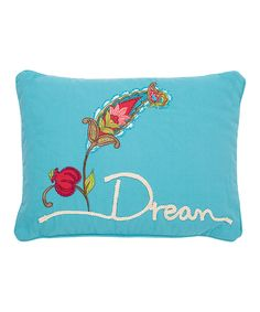 Look at this Dream Rope Throw Pillow on #zulily today!