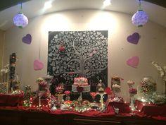 Candy Bar Eileen's bday 2016