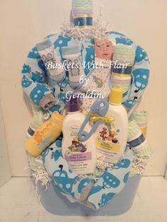 Baby Boys Bundle of Joy Gift Basket