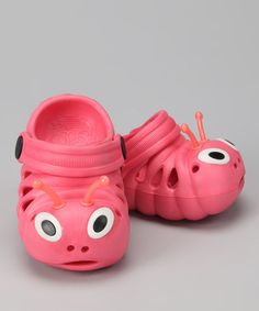 Take a look at this Gaam & Co. Kids Rose Critter Clog by Gaam & Co. Kids on #zulily today!