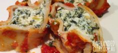 SPINACH & RICOTTA CANNELLONI: This vegetarian favourite is perfect for big batch cooking and filling your freezer. #onehandedcooks