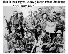 X-Ray Platoon, SEAL Team One ~ Vietnam War