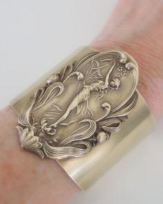 Vintage Bracelet Art Nouveau Bracelet by chloesvintagejewelry